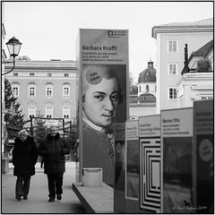 Mozart is everywhere_Tele Rolleiflex (ksadjina) Tags: 10min 150 6x6 advent austria carlzeisssonnar135mmf4 kodak400tmax nikonsupercoolscan9000ed rodinal salzburg silverfast telerolleiflex analog blackwhite film scan testfilm