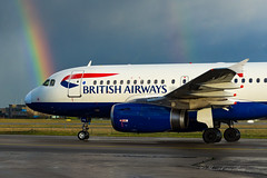 BAW_A319_Rainbow_BRU_DEC2019 (Yannick VP) Tags: civil commercial passenger pax transport aircraft airplane aeroplane jet jetliner airliner ba baw britishairways airbus a319 319100 geupc brussels airport bru ebbr belgium be europe eu december 2019 airside taxi taxiway twy inner inn aviation photograhpy planespotting airplanespotting rainbow