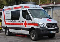 Cruz Roja (emergenciases) Tags: emergencias españa 112 comunidaddemadrid guadarrama sanitarios simulacro cruzroja cruzrojamadrid mercedes mercedesbenz mercedesbenzsprinter sprinter ambulancia svb soportevitalbásico rla rodríguezlópezauto