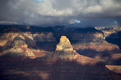 Zoroaster Temple (BDFri2012) Tags: zoroastertemple grandcanyon grandcanyonnationalpark nationalpark canyon butte clouds cloudy sunset shadows arizona desertsouthwest southwestunitedstates americansouthwest landscape
