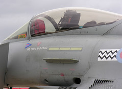 007's? (crusader752) Tags: raf royalairforce typhoon fgr4 zj930aa 2008 airshow no17squadron bae display rafwaddington wingcommanderawdcraig pennant