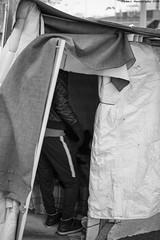 """Ghost Children Place 21"" (TBWLC Photography) Tags: fdrouet tbwlc street rue nb bw monochrome campdemigrants migrantcamp slum bidonville refugiés refugees nikon d610 aubervilliers"
