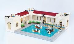 Naval Academy Wading Pool (gid617) Tags: lego naval wading soldiers pool eslandola
