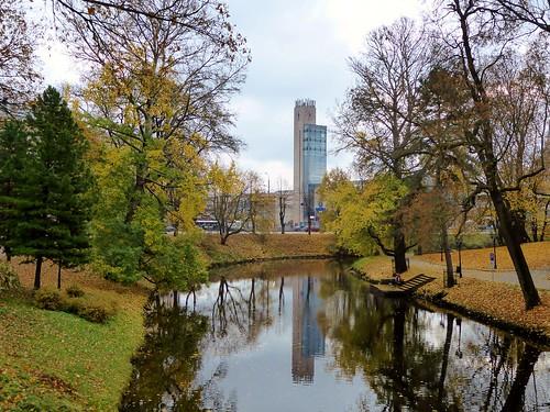 Bastejkalna park, Riga
