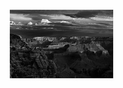 Mather Point, Grand Canyon National Park (Joe Franklin Photography) Tags: grandcanyon matherpoint blackandwhite southwest almostanything nationalpark grandcanyonnationalpark arizona az joefranklin wwwjoefranklinphotographycom