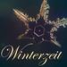Schneeflocke mit Text Winterzeit