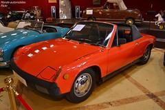 Porsche 914 1970 (Monde-Auto Passion Photos) Tags: voiture vehicule auto automobile cars porsche 914 orange ancienne classique rare rareté collection vente enchère osenat france fontainebleau