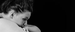 Silvia (BenoitGEETS-Photography) Tags: theater théâtre d610 nikon nikonpassion tamron 2470 bw bn nb noiretblanc blackwhite tristesse sadness actress actrice