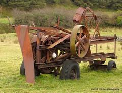 rusting machinery (patrickcolhoun) Tags: rust decay donegal ireland buncrana inishowen machinery nature abandoned