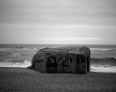 The bunker (Rosenthal Photography) Tags: dänemark ff120 epsonv800 mittelformat urlaub ilfordhp5 mamiya7 ilfordlc2912921°c12min ilfordrapidfixer 20190804 asa400 analog 6x7 sea northsea bunker strand beach coast lanscape seascape mood denmark houvig summer august cloudy dunes mamiya 150mm f45 ilford hp5 hp5plus lc29 rapid fixer epson v800