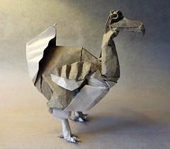 Dodo (mrmicawer) Tags: papiroflexia origami papel dodo ave pájaro bird mauricio extinguido
