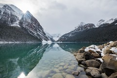 Lake Louise Banff National Park (Pat.Mtl.) Tags: nikon d600 lake louise alberta lakelouise canada water blue reflection wet mountain landscape landscaping snow north sky cloud backlighting tamron 1735mm f284 di osd wide angle 17mm banff national park nature clear by naturebynikon