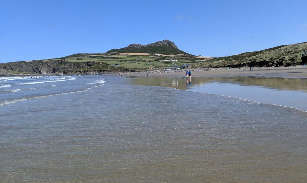 Sandy Beach, Whitesands Bay