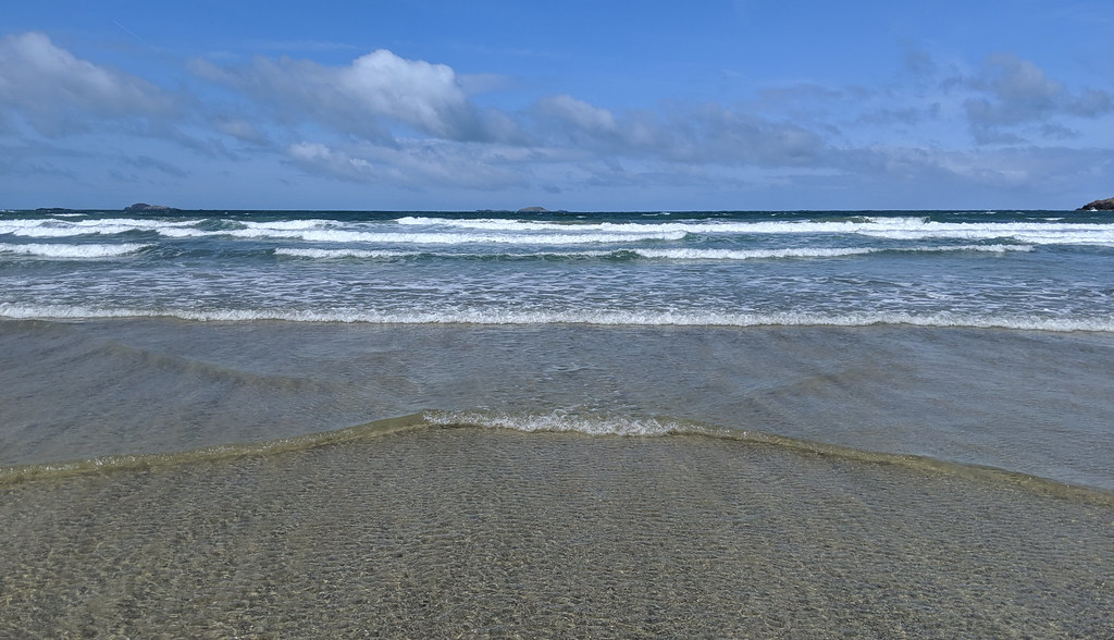 The Surf At Whitesands Bay