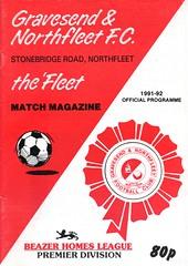 Gravesend & Northfleet v Waterlooville (Havant & Waterlooville) Tags: havant waterlooville gravesend northfleet ebbsfleet united southern league football programme