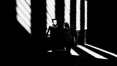 Heading Out (Sean Batten) Tags: london england unitedkingdom tatemodern blackandwhite bw people candid light shadow city urban fujifilm x100f