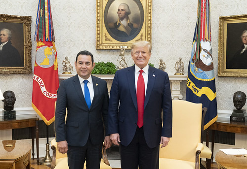 President Trump Meets with the President by The White House, on Flickr
