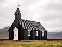 Búðakirkja, Iceland (✦ Erdinc Ulas Photography ✦) Tags: búðakirkja iceland blackchurch church black landmark building wood roof landscape culture traditional icelandic búðir travel ísland