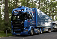 "Scania R Streamline Blue Stream "" JENS BODE "" (D) (magicv8m) Tags: scania r streamline blue stream jensbode d tir trans transport lkw"