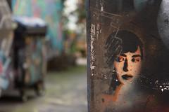 Urban Art (michael_hamburg69) Tags: hamburg germany deutschland urbanart streetart gängeviertel artist künstler adey adelineyvetot