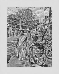 Street photography- candid (Rajavelu1) Tags: candidstreetphotography aasia artdigital blackandwhitestreetphotography india people handheld availablelight mobilephotography iphonephotography creative art streetphotography iphone7plus
