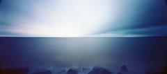 Storm over Nipissing (facenorth) Tags: holga120wpc kodakektar100 120film mediumformat c41 pinhole pinholephotography milf manilovefilm filmisnotdead ishootfilm lomography lomo longexposure lakenipissing northbay toycamera