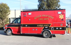 Village of Butler, Wisconsin Christmas Parade 2019 (raserf) Tags: village of butler wisconsin waukesha county volunteer fire department 2008 ford truck ambulance ems emergency christmas parade holiday celebration xmas 2354 2019 dept