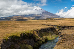 Cotopaxi north park entrance (Vojvoda Fine Art Photography) Tags: andes cotopaxi ecuador equateur famousplace nationalpark southamerica volcano beautyinnature bluesky bright cloud colorimage landscape mountain nature outdoors scenery scenic traveldestination wildernessarea