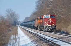 Canada, eh? (sd39u1556) Tags: cp crude oil missouri train winter snow nikon railfan railroad canada