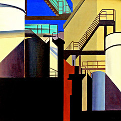 Art Institute of Chicago, Illinois, USA (pom'.) Tags: canoneos400ddigital artinstituteofchicago illinois charlessheeler usa westernindustrial 1955 chicago museum art painting 20thcentury precisionism modernism sheeler