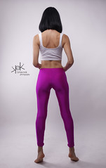 Casual Fashion portraits with Kristi - by SpirosK (2nd-II): Gymnastics (SpirosK photography) Tags: gym gymnastics yogapants tights studio fashion portrait model kristi spiroskphotography nikon d750 strobist highkey photoshoot beautiful pink white