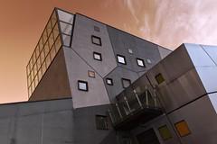 Depth (Rob Oo) Tags: england unitedkingdom ccby40 hull kingstonuponhull uk yorkshire ro016b depth architecture abstract negative wall window hww