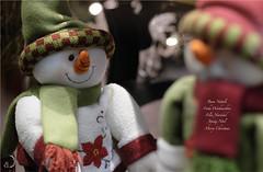 NOËL (bd168) Tags: winter snowman christmas wishes 90mm xt10