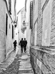 por la callejuela de Córdoba. (Calle Alta de Santa Ana) (F. Nestares P.) Tags: cdallejuela córdoba byn bw explore