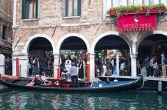 Hotel Antico Doge (Nigel Musgrove-3 million views-thank you!) Tags: venice italy italia veneto venezia hotel antico doge campossapostoli canal gondola gondolier tourists riodelssapostoli