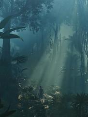 """Light from Above"" (HodgeDogs) Tags: crystaldynamics squareenix explore inexplore nvidia larahjohnson fransbouma tombraider shadowofthetombraider tree people photography jungle"