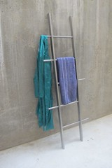 TB.15 Clothes ladder In Stainless Steel With Oak Finish By Tidyboy (tidyboy892) Tags: furnituredesign homefurniture homedesign homedecorations clothesladder towelladder clothesladderonline clothesrail towelrail handmadedesign tidyboy tidyhome