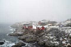 Background not found :) (Aerisabel) Tags: reine cod lofoten landscape mountain snow fiordo norway travel winter hamnøy