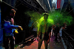 DSC_0253 - 3 (rajashekarhk) Tags: holi colours chennai culture capital festival enjoy festivalofcolours expression rajashekar rituals green beauty blue southindia street splash people sawakarpet northchennaitamilnadu tradition drycolours