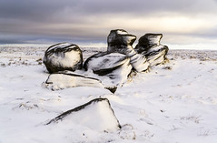 Kinder Low (l4ts) Tags: landscape derbyshire peakdistrict darkpeak kinderscout kinderlow moorland gritstone gritstonetors snow winter appicoftheweek