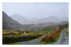 Hairpin bend. 19 (Phoenix Knight.) Tags: robindemel snowdonia gwynedd northwales mountains rain