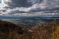 Blick auf Kahla (berndtolksdorf1) Tags: deutschland thüringen kahla landschaft landscape himmel sky wolken clouds jahreszeit herbst autumn aussicht outdoor