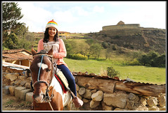 HERMOSA TURISTA. BEAUTIFUL TOURIST. INGAPIRCA - ECUADOR. (Alberto Cervantes Photography.) Tags: beautifultourist beautiful tourist turista ingapirca ecuador republicadelecuador ecuadoringapirca ingapircaecuador indio inca indean animal horse castle streetphotography photography photoart art creative photoborder sky heaven nubes clouds indoor outdoor blur retrato portrait tree grass eltemplodelsol thetempleofthesun temple templo sol sun cañar women girl lady miss mrs mujer dama señorita señora pretty prettygirl nice chica colorlight luz light color colores colors brillo bright brightcolors cordilleradelosandes andes cordillera cabalgar ride cold smile torideahorse babygirl baby joven young flickrites prettywomen