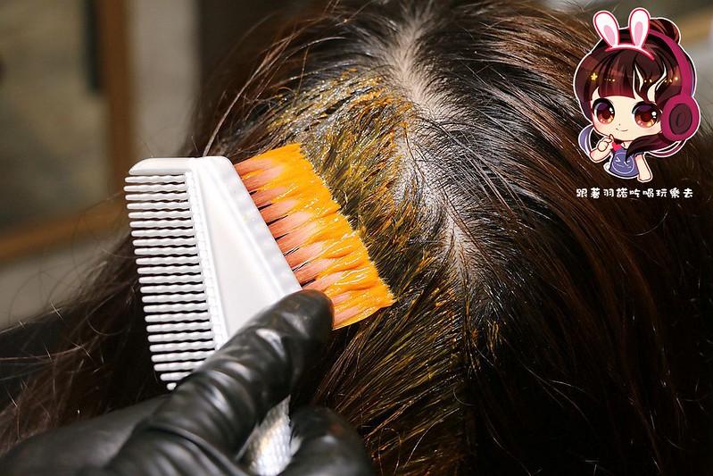 板橋染燙髮推薦 七大界美髮沙龍 肩頸SPA複合式髮廊051