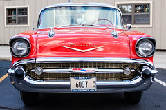 put on a happy face... (Stu Bo - Tks for 14 million views) Tags: canon certifiedcarcrazy coolcar canonwarrior classiccar 1957chevy chevorlet sbimageworks showcar sexonwheels dreamcar oldschool onewickedride orange greatpaint ride rebel reflections grill chromeisking streetmachine convertible idreamofcarsmotorsandhorsepower icon cruisenight americanmade
