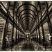 Dublin IR - The Long Room Of The Old Library At Trinity College 04