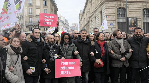 Manifestation réforme des retraites - 17 décembre 2019