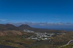 Lanzarote 15042018 461  Kopie (Dirk Buse) Tags: maguez canarias spanien lanzarote spain canary islands landscape landschaft vulkane berge city himmel wolken meer blick mft m43 mu43