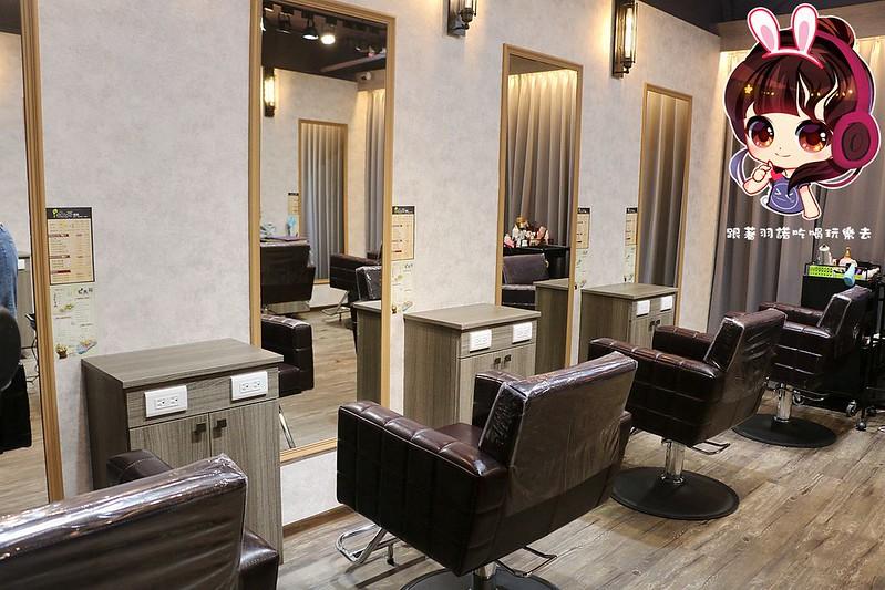 板橋染燙髮推薦 七大界美髮沙龍 肩頸SPA複合式髮廊121