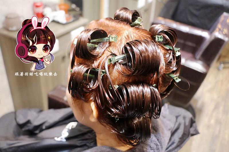 板橋染燙髮推薦 七大界美髮沙龍 肩頸SPA複合式髮廊104
